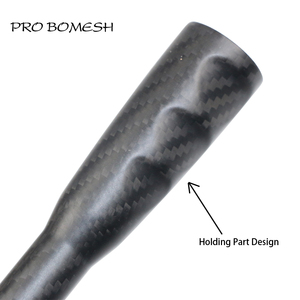 Image 3 - プロ Bomesh テーパー 3k カーボンチューブ 23 センチメートルグリップロッドビルディングコンポーネントハンドルロッド修理 DIY ブランクアクセサリー