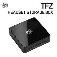 Caixa impermeável do fone de ouvido de tfz, caixa de armazenamento do cabo do fone de ouvido, impermeável e à prova de choque