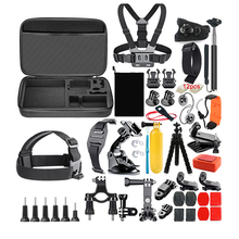 Action Camera Accessories Kit for GoPro Hero 7 6 5 4 Session Set Xiaoyi 4K SJCAM EKEN and other Cameras