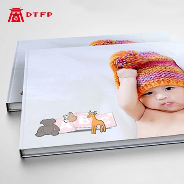 Album Photo Book High Quality Hrdcover Deluxe Binding Custom Printed Photo Baby Memory Book