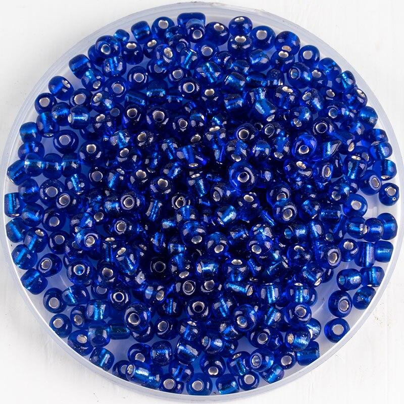 Czech Glass Beads ~ 30 x 10mm Blue Discs