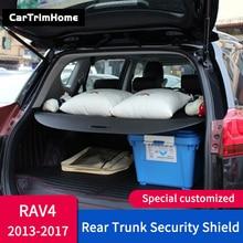 Аксессуары для Toyota RAV4 XA40 2013 rav4 БАГАЖНИК Грузовой Крышка безопасности щит черный