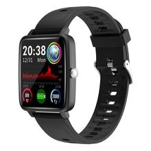Jelly Comb 1.4นิ้วFull Touchสมาร์ทนาฬิกากันน้ำIP68 Fitness Tracker SmartWatch Square Alloyยาวสแตนด์บายนาฬิกา