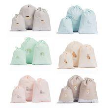 Дорожная сумка для хранения обувь дорожная сумка органайзер складная сумка на шнурке пылезащитный туалетный мешок