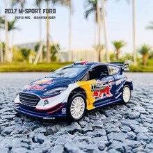 Bburago 1:32 2017 M-Sport Ford Fiesta #1 Sebastien Ogier DS WRC DTM WTCC Rally Racing Alloy Model Car model Collecting gifts