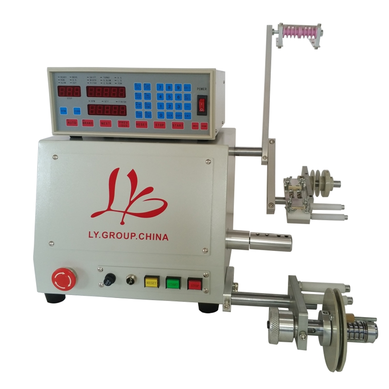 LY 810 Computer Automatic Coil Winder Winding Machine For 0.03 To 1.2mm Wire 400W