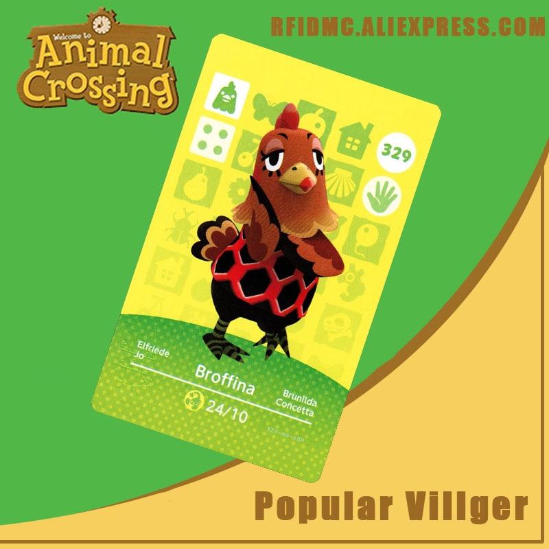 329 Broffina Animal Crossing Card Amiibo For New Horizons