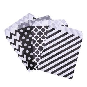 Image 5 - 25PCS 18x13 ซม.กระดาษคราฟท์Biscuit Candyของขวัญกระเป๋าบรรจุวันเกิดตกแต่งขนมCandy BARถุงขนมขบเคี้ยวคุกกี้กระเป๋า