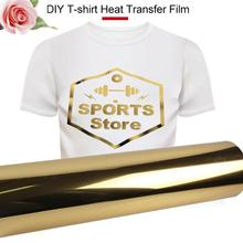 Creative Gold Hard Laser Paper Inkjet Printers Light Color Iron on Paper Heat Transfer Paper T-Shirt Picture