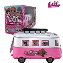 LOL Surprise Dolls Airplane Picnic Ice Cream Car Slide Handbag Villa Action Figure Doll Toys Set Birthday Gifts for Girls