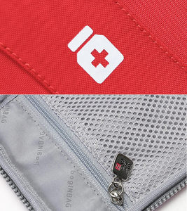 Image 5 - Mini First Aid Kit Travel Camping Medical Bandage Bag Family Sports Car First Aid Bag Tactical Military Emergency Survival Kit
