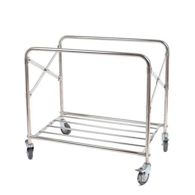 Stainless Steel  Folding Trolley  5