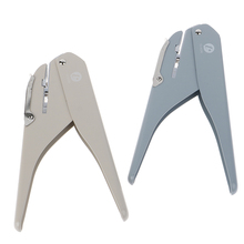 Mushroom hole puncher for Planner Disc Ring DIY Paper Cutter T-type Scrapbooking Puncher Binding Holes Craft Machine Stationery