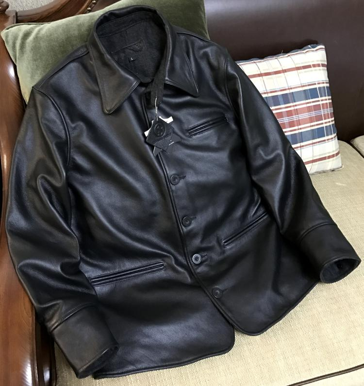 Plus Size Classic Men Cowhide Jackets Quality Men's Genuine Leather Biker Jacket Sales Casual Warm