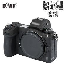 KIWIFOTOS Anti Scratch korpus aparatu obudowa ochronna skóra Film dla Nikon Z7 Z6 3M naklejka przenośna torba akcesoria Matrix czarny