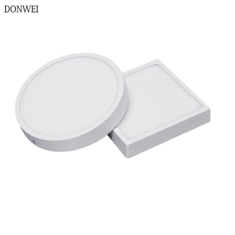 Surface Mounted LED Ceiling Light 5W 8W 16W 22W 30W Ceiling Lamp AC85-265V Round Square Indoor Panel Light For Home Decor