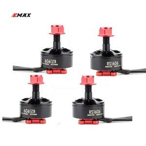 Image 1 - EMAX 1606 RS1606 3300KV 4000KV fırçasız Motor için 3 4S RC Drone FPV yarış çok Rotor