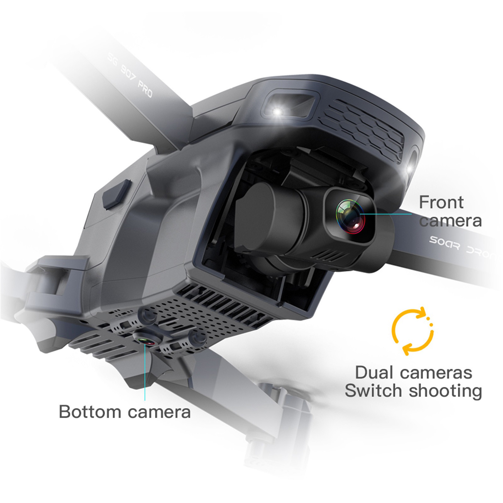 He3ef1e3bd0cb401a984a2b36768a90464 - 2020 New Sg907 Pro 5g Wifi Drone 2-axis Gimbal 4k Camera Wifi Gps Rc Drone Toy Rc Four-axis Professional Folding Camera Drones