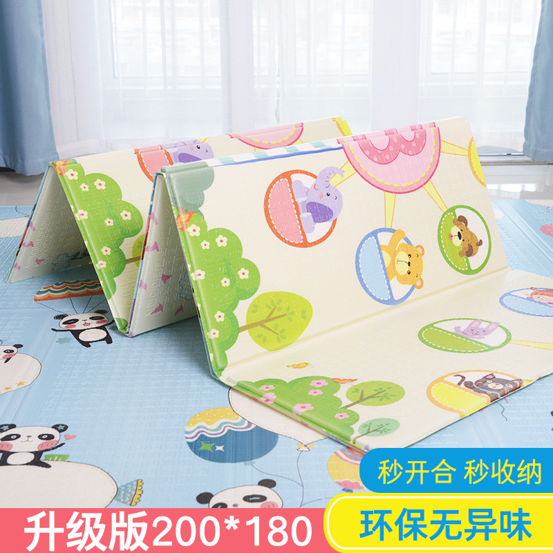 Baby Climbing Pad Portable Foldable CHILDREN'S Creeping Mat Thick Infant Living Room XPe Foam Floor Pad Household