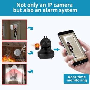 Image 3 - KERUI 무선 실내 카메라 720P 풀 HD 클라우드 스토리지 홈 보안 감시 카메라 모션 감지 야간 투시경