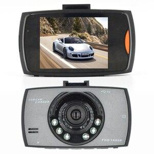 2.4 Polegada gravador de câmera do carro dvr 720p vídeo automático infravermelho noite condução gravador dashcam 90 ° grande angular gravação