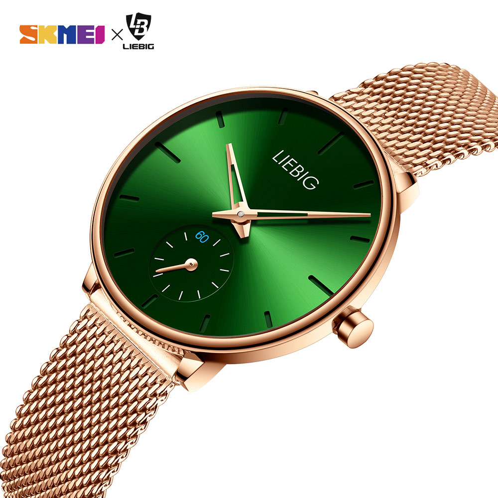 Simple Women Quartz Watch Top Brand Luxury Waterproof Wristwatches Lady Watch Full Steel Female Clock Relogio Feminino L4001