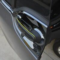 Cuenco y manija de puerta exterior de acero inoxidable para Mercedes 453 Smart Fortwo, pegatina protectora, accesorios de estilismo para coche, 2 uds.