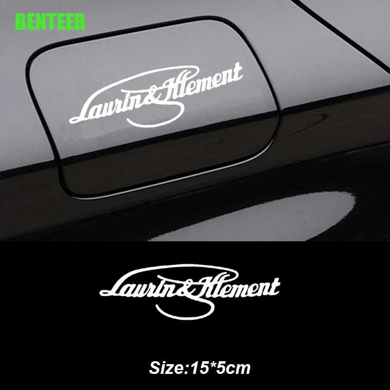 Laurin & Klement Stiker untuk Skoda Octavia 2 A7 A5 Fabia 3 Cepat Luar Biasa 3 Kodiaq Scala Karoq Kamiq
