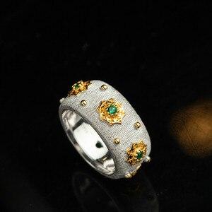 Image 2 - CMajor Anillo de plata de primera ley y circón para mujer, sortija, plata esterlina 925, Circonia cúbica, zirconia, circonita, zirconita, color verde, estilo italiano