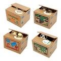 NICEYARD электронная коробка для денег  детский подарок  автоматическая панда  кошка  кража монет  копилка  копилка  милый домашний декор