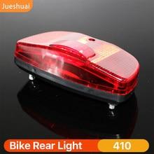 Bicicleta led luz da cauda luz da bicicleta para cremalheira traseira transportadora lâmpada de advertência segurança bateria bicicleta iluminação ciclismo acessórios