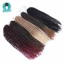Luxury for Braiding 18 inch 24 strands/pack Pre Looped Crochet Braids  Synthetic Ombre Passion Twist Hair