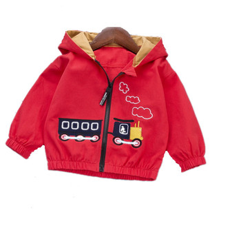 2020 New Spring Autumn Children Clothes Baby Boys Girls Cartoon Zipper Hooded Jacket Kids Infant Coat Toddler Casual Sportswear children s denim jacket 2018 spring and autumn new male baby outerwear girls autumn hooded jacket kids jacket casual hooded