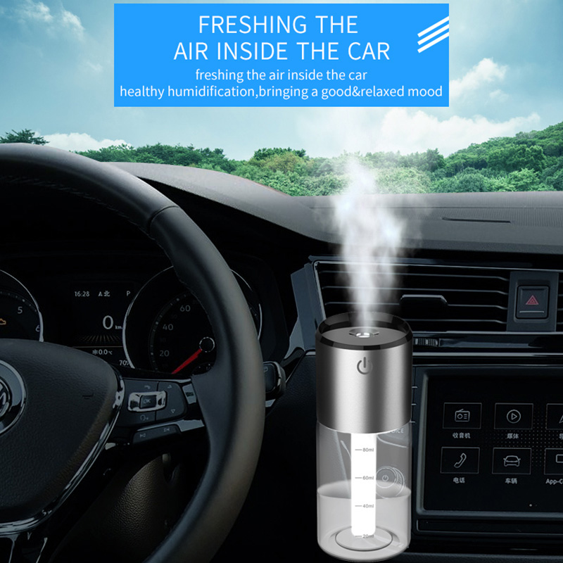 cheapest CDEN Car Air Humidifier Portable Diffuser with Magnetic Car Air Vent Mount Holder Aromatherapy Air Freshner Mini Air Purifier