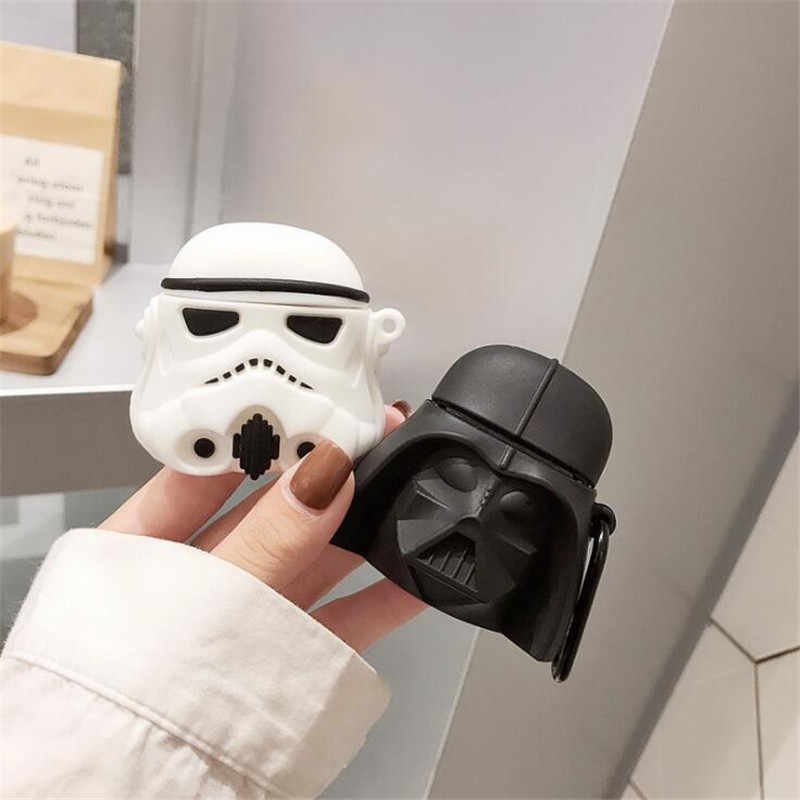 Star Wars Dark Vador Airpods Etui Sac Cosplay Badge Bluetooth