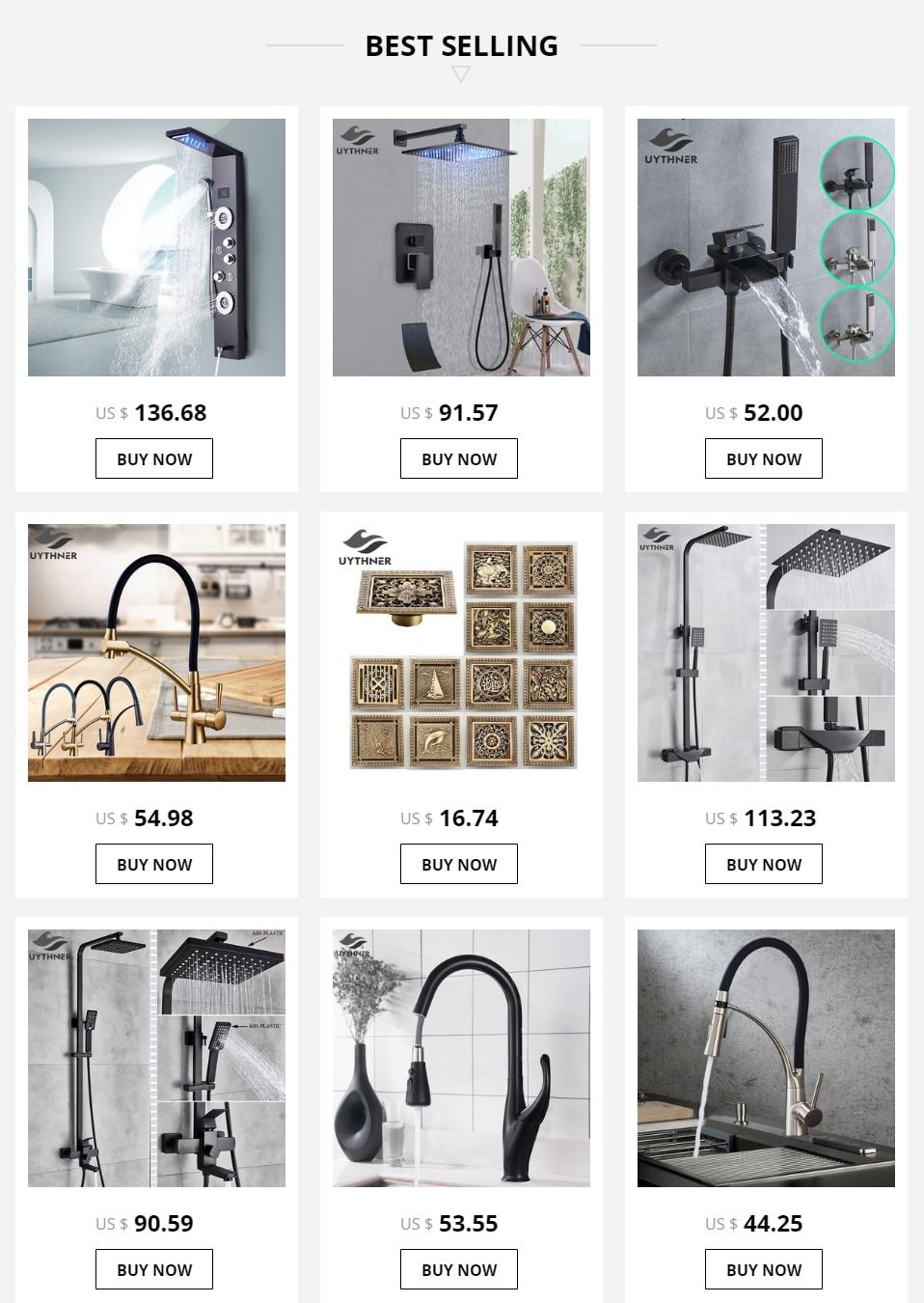 "He3f082755dcd4299af5ffd9c1e47ba43Q Gold Polish Bathroom Rain Shower Faucet Bath Shower Mixer Tap 8"" Rainfall Head Shower Set System Bathtub Faucet Wall Mounted"