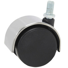 4 Pcs/Lot Stainless Steel 2-inch Swivel Chair Wheel Universal Office Caster Computer Slide Super lowest cheap price10pcs 15mm 5 8 steel transfer ball metal pressed housing universal swivel round metal bull wheel ball caster