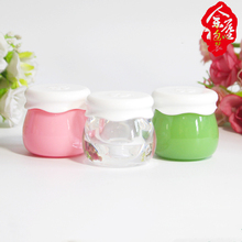 10g Creative Acrylic Empty Refillable Bottles Portable Face Cream Lotion Cosmetic Container for Travel Makeup Jar Box with Lid