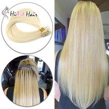 """HiArt 0,8 г нано-кольцо для наращивания, человеческие волосы для наращивания, салон, натуральные волосы, микро-кольцо, волосы, двойные прямые волосы, 1"""" 20"""" 22"""""""
