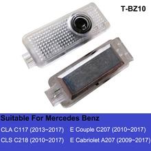 C207 CLA CLS светодиодный светильник для двери автомобиля C117 A207 E проектор Luces Para Авто интерьерные огни аксессуары для Mercedes Benz AMG