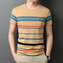 2021 NEW t-Shirt Short Sleeve Tees Men Clothing Summer Streetwear Casual Men's T-Shirt O-Neck Clothingtee Shirt