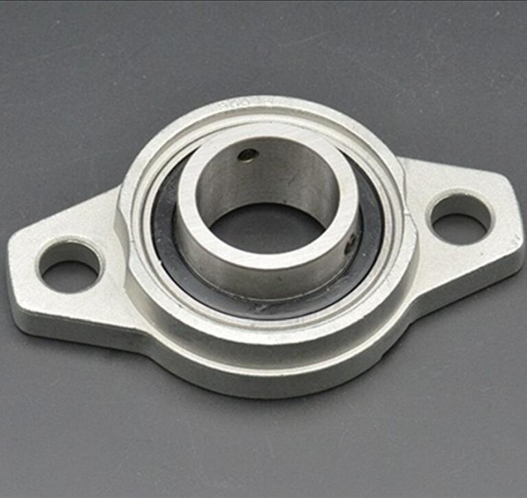 KFL005 25mm Bore Diameter Zinc Alloy Pillow Block Flange Bearing