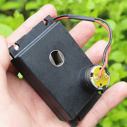 Микро-редуктор без сердечника, постоянный ток 3-6 в, 3,7 в, 58 об/мин, медленный высокий крутящий момент, полностью металлический редуктор коробк...