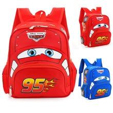 Disney 2020 car children's bag kindergarten female baby boy safe backpack primary school students 3-6 years old  boys backpack