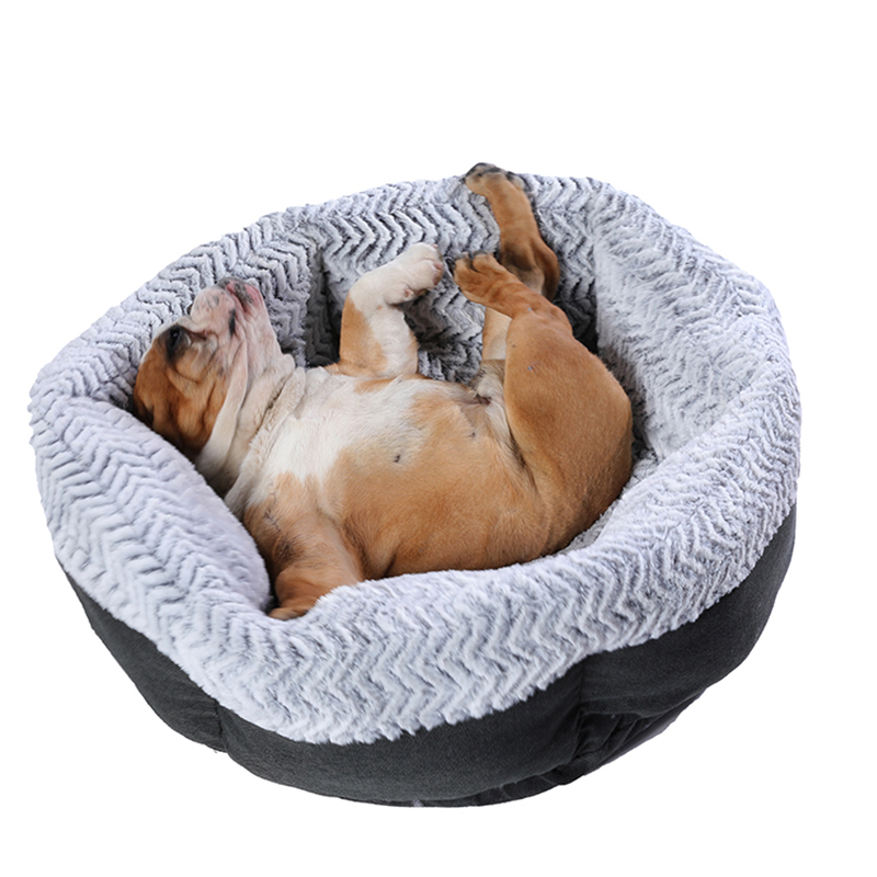 Super Large Dog Bed Round Washable Pets Bed Winter Warm Sleeping Plush Dog Kennel Cat Mats Puppy Cushion Mat Dog Cat Supplies 5