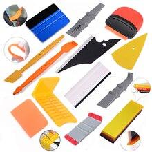 Foshio Auto Wrap Ppf Schrapers Vinyl Wrapping Tool Kit Micro Zuigmond Carbon Sticker Window Tint Film Installeren Accessoires
