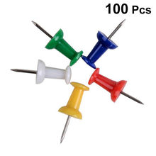 100 шт pushpin thumbtack булавки Декоративные diy инструмент