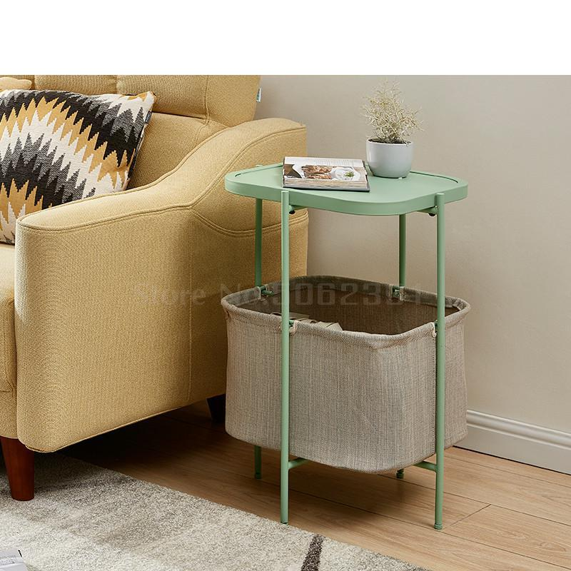 Coffee Table Simple Mini Square Sofa