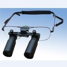 Loupe dental profissional, óculos de aumento lente binocular cirúrgica 3x 4x 5x 6x 7x