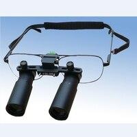 Lupa Dental médica profesional 3X 4X 5X 6X 7X  Binocular quirúrgico  lente de aumento óptico Kepler  gafas de aumento de microcirugía